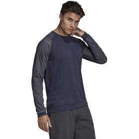 adidas TERREX Trail Cross T-shirt à manches longues Homme, legend ink/black
